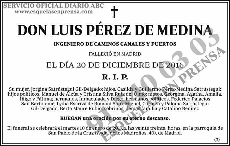 Luis Pérez de Medina